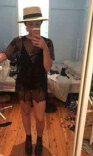 Nasty gal sheer lace dress