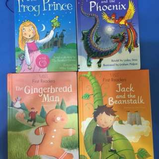 Usborne & MS first readers books