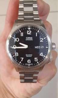 Oris pro pilot day date
