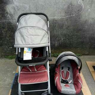 BABY 1ST STROLLER with CAR SEAT