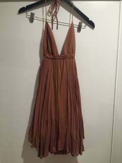 Dissh halter dress
