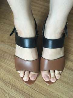 Liliw made wedge sandals size 7