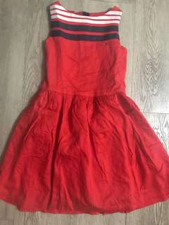 Tommy Hilfiger Red Dress size 128