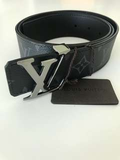Brand New Authentic Louis Vuitton Monogram Eclipse Belt