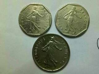 Lot Coin Sales. France Coin