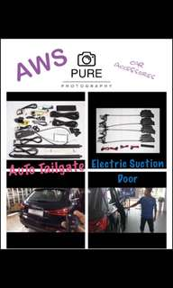 Auto Tailgate N Electric Suction Door(09-04-2018 Start Promotion)