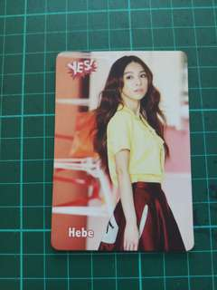 Hebe Yes card