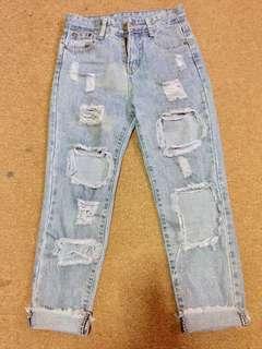 HW boyfriend jeans