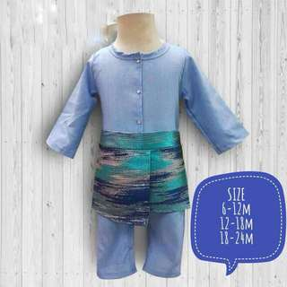 INSTOCK BABY ONE SUIT WITH ATTACHED SAMPING RAYA 2018