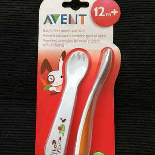 Philips Avent Spoon and Fork
