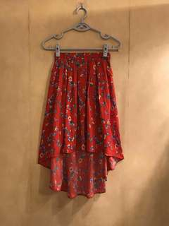 Primark Floral Summer Beach Skirt