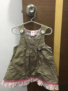 Pumpkin Patch Pinafore Dress 12-18mths