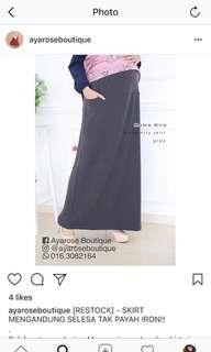 Mama Mira Grey Skirt