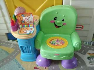 Fisher Price chair with music