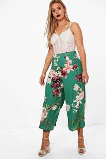 Gorgeous floral Boohoo trousers