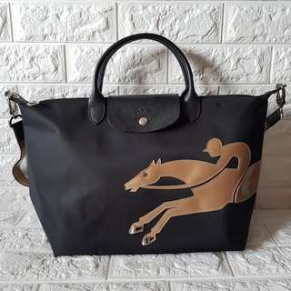 Sale!!!!Authentic longchamp Cavalier Medium