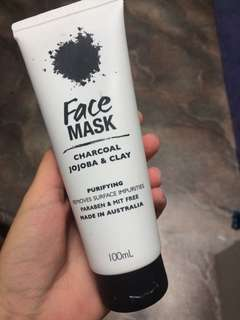 Charcoal face mask!