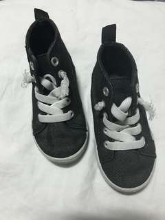 Carter's high top shoes for toddler girl
