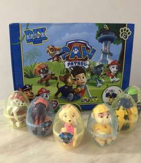 Paw patrol surprise egg- goody bag, goodies bag gift, goodie bag packages