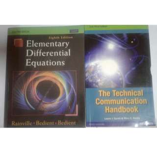 Elementary Differential Equations by  Rainville with FREE book