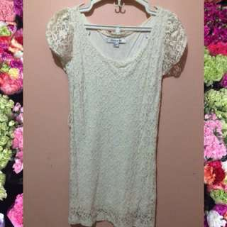 AUTHENTIC FOREVER 21 LACE DRESS