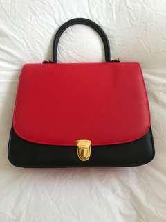Red & Black Handbag