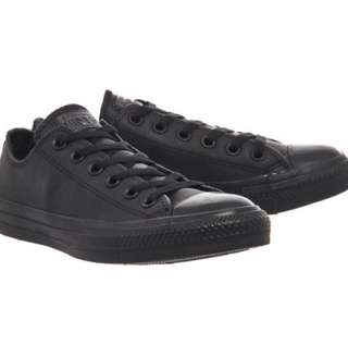 REPRICED! Original Unisex Black Leather Converse