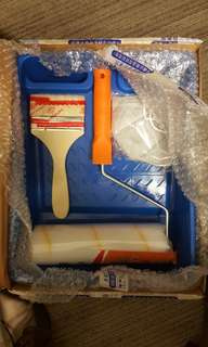 "BN Paint 4"" brush, 9"" roller and tray kit"
