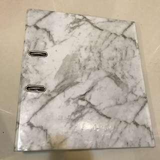 Marble Folder Binder