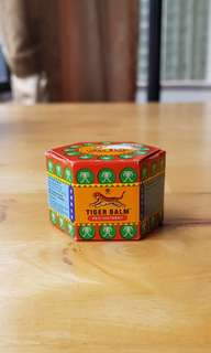 NEW Tiger Balm Red Ointment 9ml (Singapore)