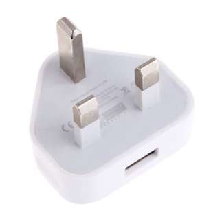 New USB UK 3 Pin Power Adapter / Plug - for Phone