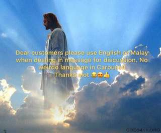 English & Malay Only