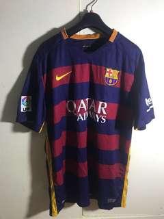 FCB Club Jersey soccer football Original Size XL Nike
