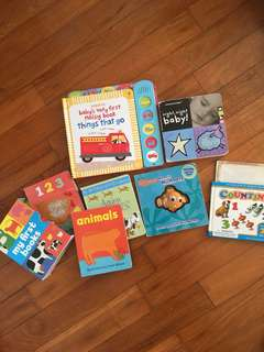 Bundle of baby board books