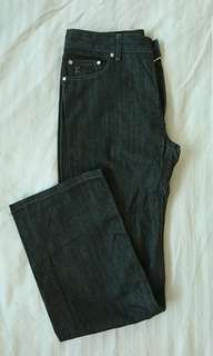 Louis Vuitton dark gray jeans