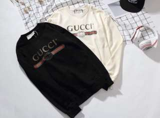 ‼️NOW ON HAND‼️GUCCI LOGO PULLOVER