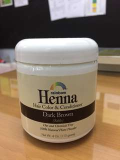 Henna Hair Color & Conditioner