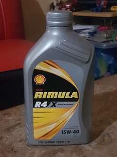 Shell Rimula R4 X Diesel Engine Oil