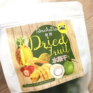 (全新) 泰國布吉🇹🇭 水果乾 煙韌軟綿 椰子糖