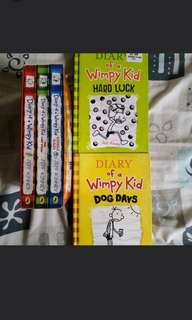 5 Diary of  Wimpy kids to clear at $12