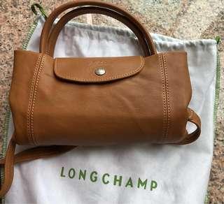 Longchamp 駝色羊仔皮(95%新,42cm x27cm)