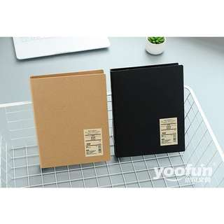 Simple Basic File Binder B5 26 Ring
