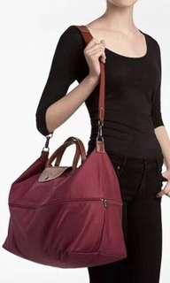 LONGCHAMP LE PLIAGE系列延展夾層旅行袋