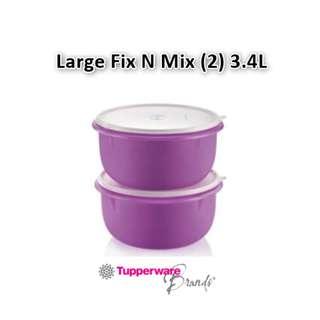 Tupperware Large Fix N Mix (2pcs) 3.4L