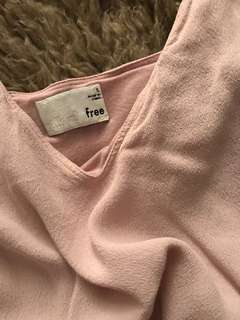 Wilfred Free Dusty Rose Top