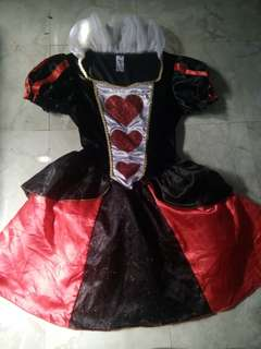 Queen of heart 8-10 yrs old
