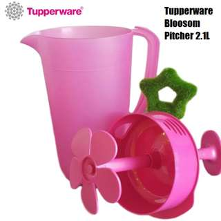 Tupperware Blossom Pitcher 2.1L with Stirrer (1)