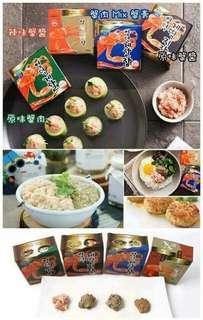 韓國直送🇰🇷即食蟹肉🦀蟹膏🦀90g (4款)