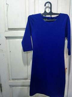 RMP Blue Bodycon Dress