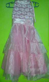 Pink Girl's Gown